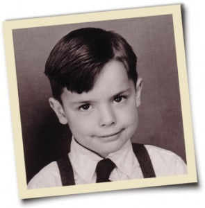 Polaroid of young Steve